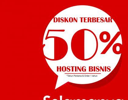 Promo Hosting Bisnis