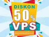 Promo DISKON VPS 50%